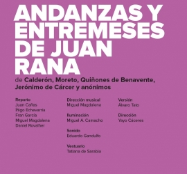 Andanzas y entremeses de Juan Rana – CNTC y RON LALÁ